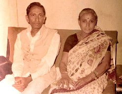 GURUJI AND HIS WIFE GANGADEVI